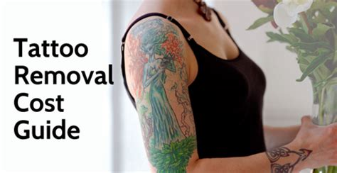 how much does it cost to laser remove a tattoo laser removal cost guide of 2018 ink revoke