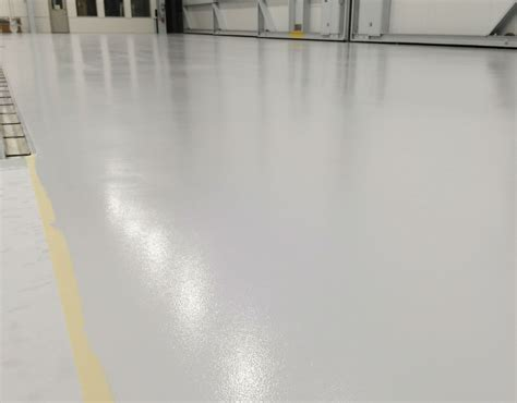 Polished Concrete Flooring by Applied Flooring Gives Corporate Hangar An Aesthetic
