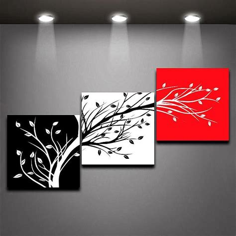 black and white painting ideas 25 unique three canvas painting ideas on tree