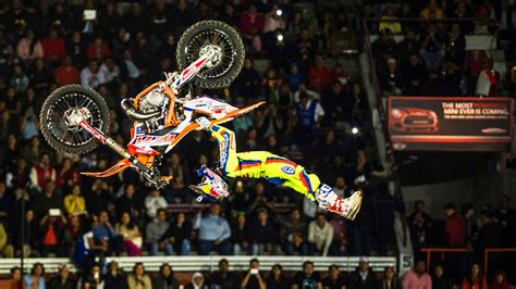 Freestyle Motocross Progression In Mexico Red Bull X