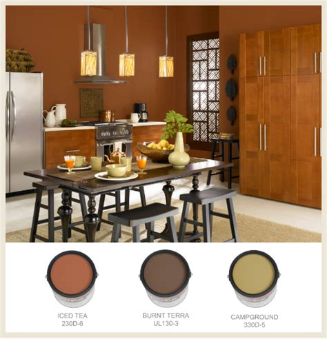colorfully behr sun baked color