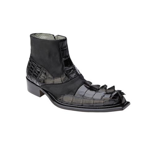belvedere boots belvedere drago hornback calfskin boots black