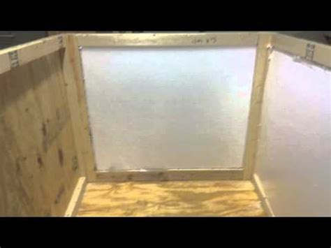 how to insulate dog house how to build an insulated dog house m4v youtube