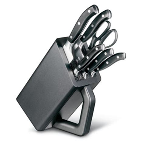 vn46153 victorinox 11 piece kitchen knife block set victorinox 6 piece fully forged knife block set aj stuart