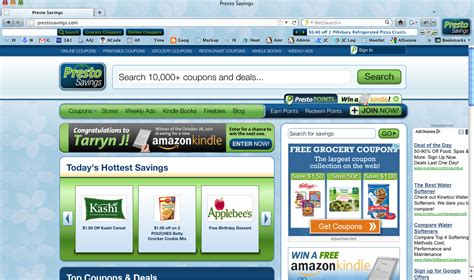 pc themes discount online coupon site presto savings launches coupon browser