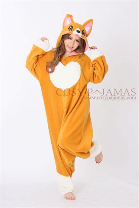puppy onesies animal onesies corgi onesie kigurumi pajamas