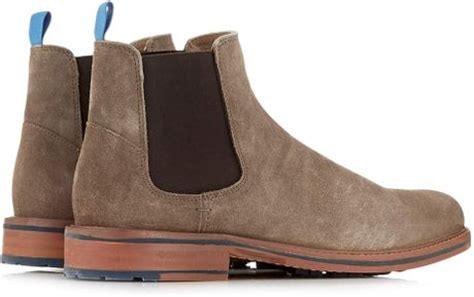 light brown chelsea boots ben sherman light brown suede chelsea boots in brown for