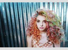 rainbow hair dye | Tumblr Rainbow Hair Tumblr
