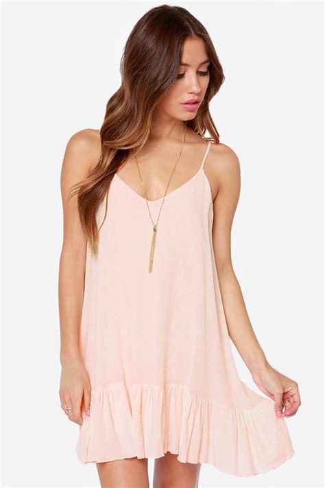 light peach dress let it flow light peach dress 34 fashion dresses