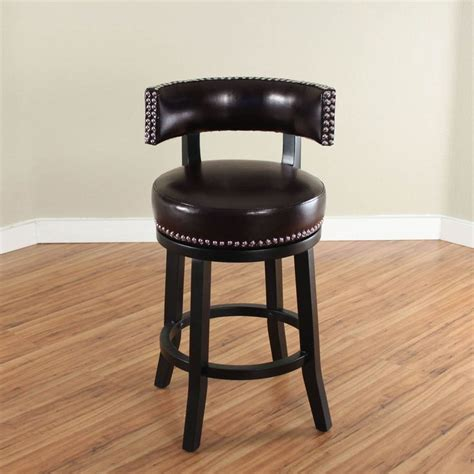 Genuine Leather Swivel Bar Stools by Monsoon Mossoro Swivel Leather Counter Stool Mossoro