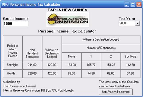 wages calculator salary wages tax calculator revenue commision