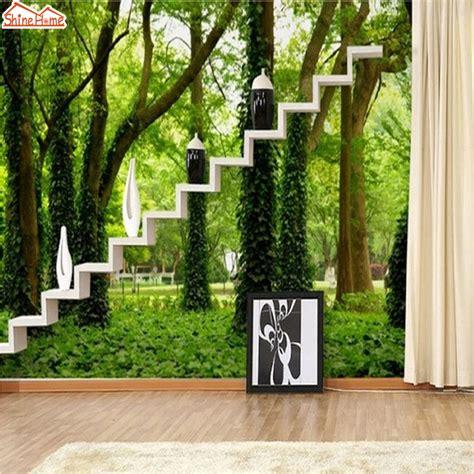 Poster Daun Suplir alam hijau wallpaper beli murah alam hijau wallpaper lots