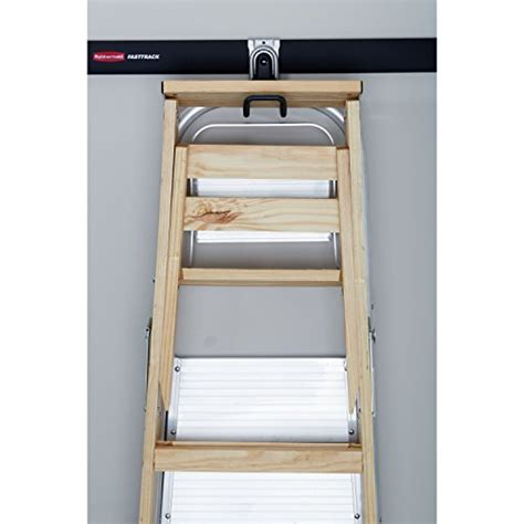 Ladder Storage Racks For Garage by Rubbermaid Fasttrack Garage Storage System Ladder Hook
