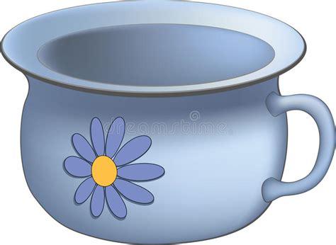 vaso da notte vecchio vaso da notte immagine stock immagine di metallo