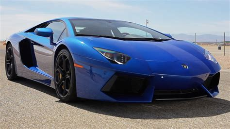 World S Fastest Lamborghini The One With The 2012 Lamborghini Aventador And 1985