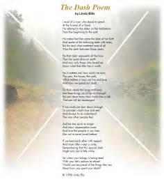 the dash poem by linda ellis simple truths