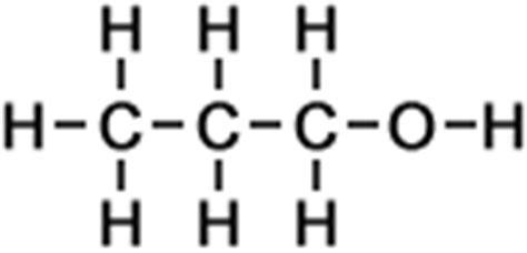 propanol diagram naming alcohols names of compounds organic
