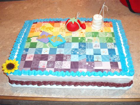 Quilting A Cake by Quilting Themed Birthday Cake Nani Quilt Cakes And