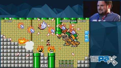 Custom ?Super Mario Maker? level punishes Omegathon finalists at PAX ? GeekWire