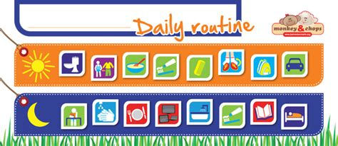 Calendar Wall Sticker daily routine chart help your family get organised