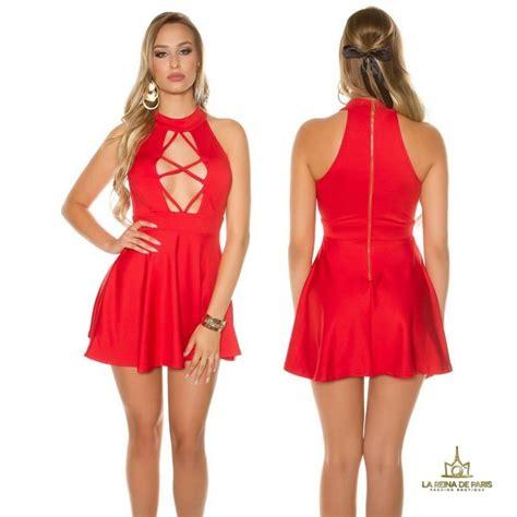 imagenes de niños vestidos ala moda comprar mini vestido rojo decolett 233 online vestidos de