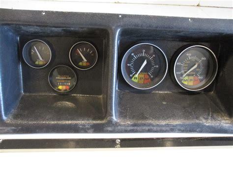 regal boats gauges 1988 regal empress 200xl boat dash panel gauges instrument