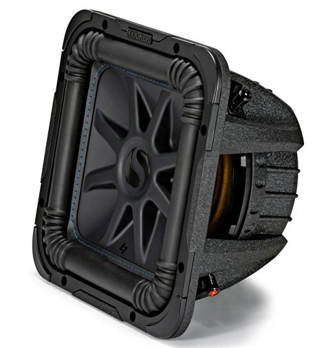 Speaker Subwoofer Kicker kicker l7s10 car audio baric 10 subwoofer square l7
