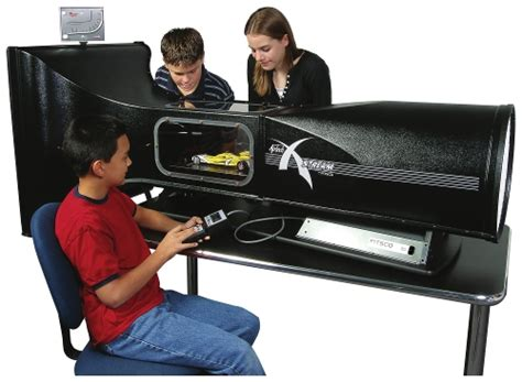 professional airtech grade fan x wind tunnel with vehicle platform sensor w57895
