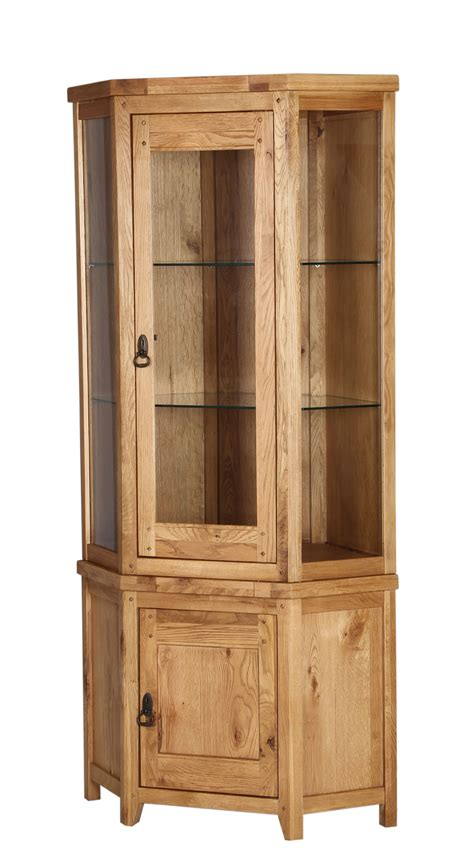 light wood corner corner display cabinets with glass doors roselawnlutheran