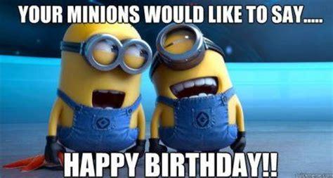 Minions Birthday Meme - happy birthday minions images memes videos 2happybirthday