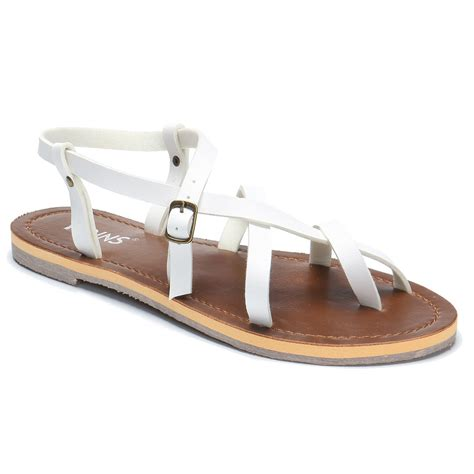 crossing sandals white crossing flat sandals us 25 95 yoins