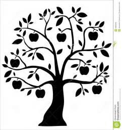 decorative black apple tree royalty free stock image image 18622296