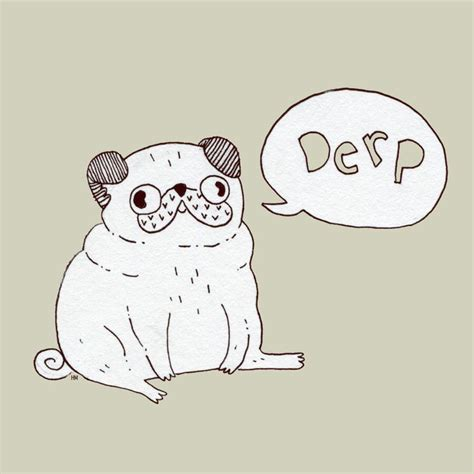 sketch of a pug pug drawing it a pug