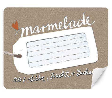 Etiketten Beschriften Marmelade by 15 Marmeladenetiketten Natur Rechteckig 50x59mm Eine