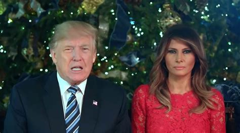 donald trump christmas message a christmas message from president and first lady trump
