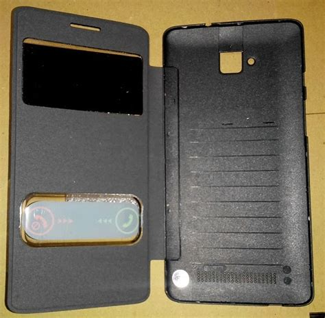 Flip Leather Andromax V Warna Coklat jual leather jual flip cover smatfren andromax z with view call id hisense eg980