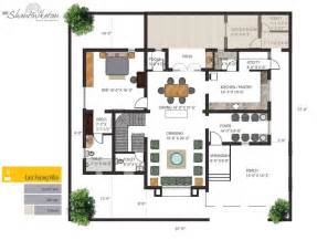 bungalow ground floor plan individual bungalows floor plan ground east facing villa house plans 44751