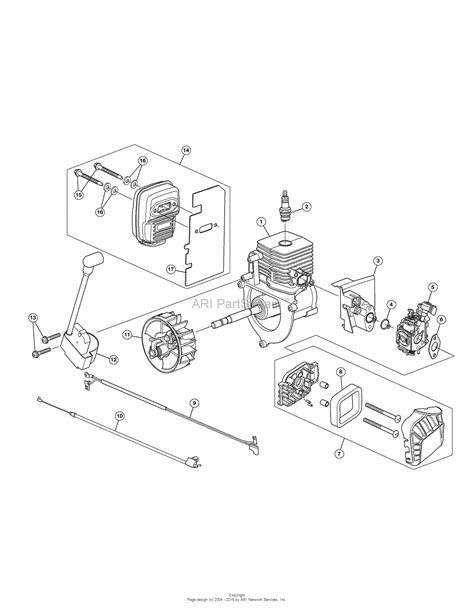 assembly diagram troy bilt tb430 41as99ms766 41as99ms766 tb430 parts