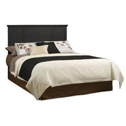 black headboards for king size beds home styles bedford black king headboard by oj commerce