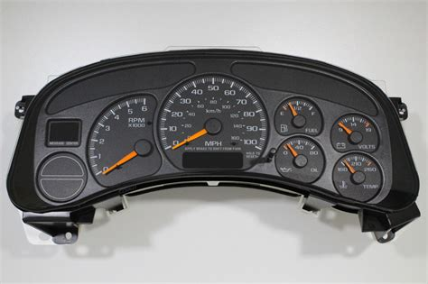 manual repair free 1998 chevrolet metro instrument cluster 2000 02 rebuilt factory replacement silverado sierra truck cluster 100 rebate ebay