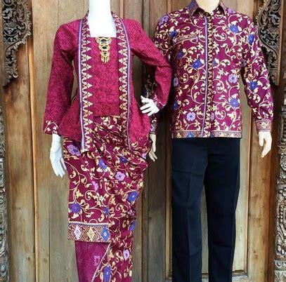 Kebaya Batik Muslim Toska Model Terbaru Batik Pasangan Modern 15 desain baju batik model terbaru