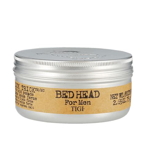 bed head pomade tigi bed head for men slick trick pomade 75g modern man