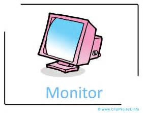 Image title computer monitor clipart image free computer clipart