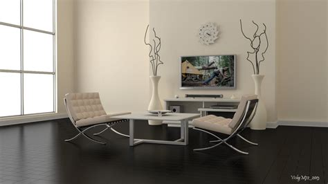 Barcelona Chair Interior cycles interior barcelona chairs by vickym72 on deviantart