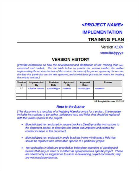 design implementation proposal generous training implementation plan template images