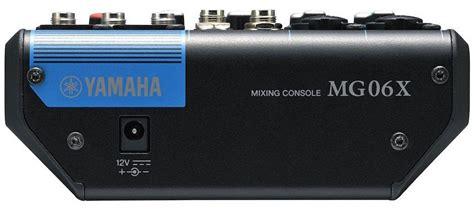 Yamaha Mixer Mg06x yamaha mg06x mixer