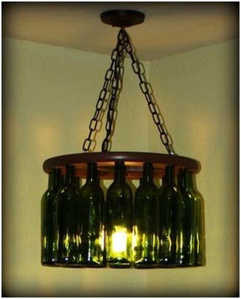 Wine Bottle Light Fixture Diy Diy Light Fixtures Using Wine Bottles Make Pinterest