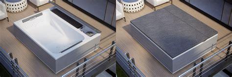minipiscina da terrazzo minipiscine idromassaggio da esterno spa loft di grandform