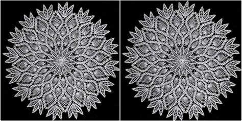 Star Decor For Home how to crochet pineapple doily star free written pattern