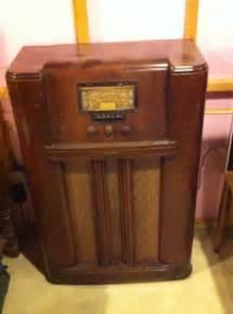 Rca floor model tube radio collectors weekly